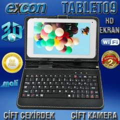 Excon 7'' Tablet Pc 8Gb Çift Çekirdek Klavye