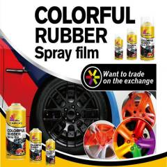 S�k�lebilir Rubber Kau�uk Sprey Boya 400ml
