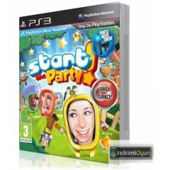 START THE PARTY PS3 T�RK�E VERS�YON HD PAL SIFIR