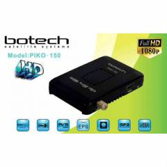 BOTECH PİKO 150 MİNİ HD FULL HD UYDU ALICISI