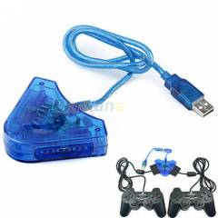 PLAYSTATION 2  3 OYUN KOLU GAMEPAD USB �EV�R�C�