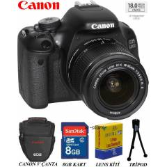 Canon EOS 600D 18-55mm IS II Foto�raf Makinesi