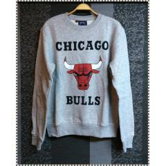 NBA sweat-shirt Chicago Bulls (Gri) Kargo bizden