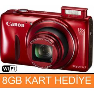CANON SX600HS 16MP FULL HD Foto�raf Makinesi