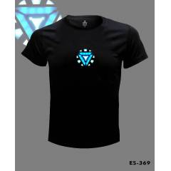 Iron Man Arc Reactor Tshirt �CRETS�Z KARGO