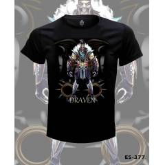 League of Legends Draven Tshirt �CRETS�Z KARGO