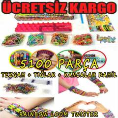 Rainbow Loom Twister XLarge Set 5100 Par�al�k