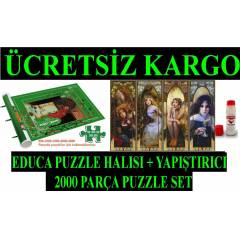educa puzzle halısı + REFLECTION puzzle set