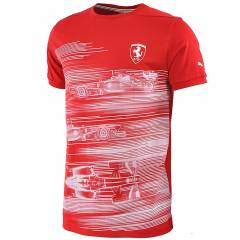 Puma Ferrari Graphic Tee Ti��rt