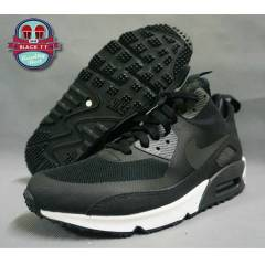 NIKE AIR MAX 90 SNEAKERBOOT BLACK DARK CHARCOAL