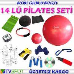 COSFER 14 L� P�LATES SET� -BANT TW�STER M�N� TOP