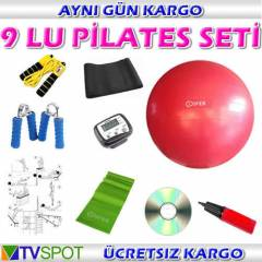 COSFER 9 LU P�LATES SET� -TOP EL YAYI ADIMSAYAR