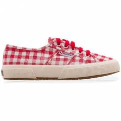 SUPERGA 2750 STRIPESANDCHECKS FABRICU CHECKED/BE