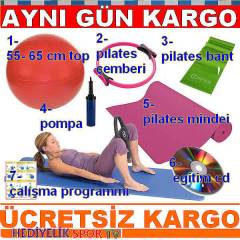 7 Lİ PİLATES SET PLATES TOP PİLATES ÇEMBERİ YOGA