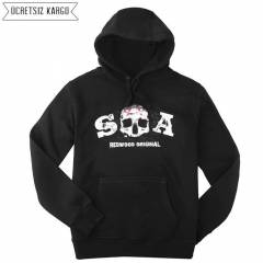 Sons Of Anarchy Kap�onlu Erkek Sweatshirt BNT303