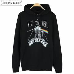 Wish You Were Beer Kap�onlu Sweatshirt BNT407