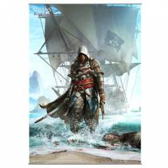 Assassin's Creed IV Black Flag Wall Scroll Vol.