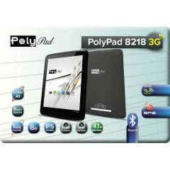 Poly Pad 8218 3G 8' 8GB Sim Kart Tablet PC+K�l�f