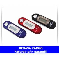 POWERWAY 4 GB PİLLİ RADYOLU MP3 PLAYER