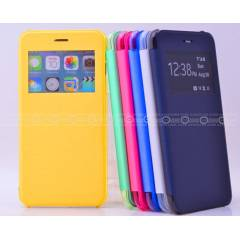 Apple iPhone 6 Plus K�l�f Pencereli Flip Cover