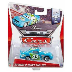 Disney Cars Spare O Mint No.93