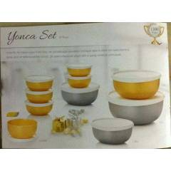 TUPPERWARE YONCA �EY�Z SET� TAM 10 PAR�A KA�MAZZ
