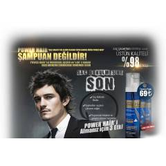 Power Hair Sa� ��kart�c� K�p�k Maske