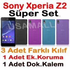 Sony Xperia Z2 K�l�f 0.2mm S�PER SET