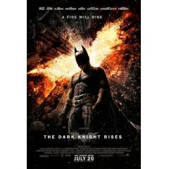 The Dark Knight Rises Orjinal �ift Tarafl� afi�