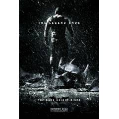 The dark knight (Bane) Orjinal �ift Tarafl� afi�