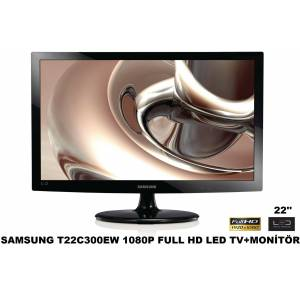 SAMSUNG T22C300EW 22'' 1080P Full HD LED TV