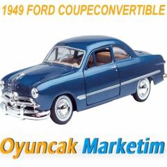 MOTORMAX 1:24 MODEL ARABA 1949 FORD COUPE