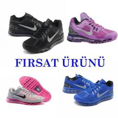 NIKE AIR MAX BAY BAYAN SPOR AYAKKABI �OK �ND�R�M