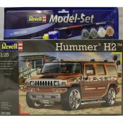 Revell 1/25 67186 Model Set Hummer H2 Car Kit
