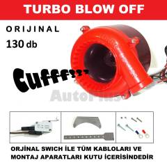 Blow Off Turbo Elektronik Valfi Blov CUFF sesi