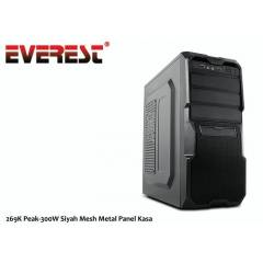 EVEREST 269K 250W Peak 300W Siyah Mesh Metal Pan