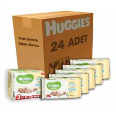 Huggies Islak Havlu Yeni Do�an 24 l� Koli