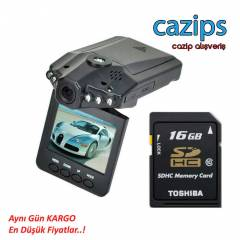 FULL HD ARA� ��� KAMERA 16 GB KART HED�YEL�