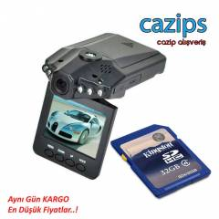 FULL HD ARA� ��� KAMERA 32 GB KART HED�YEL�