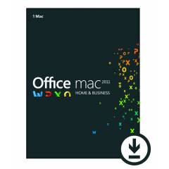 Office Mac 2011 Home and Business 2011 L�SANS