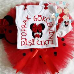 MINNIE MOUSE D�� BU�DAYI TAKIMI HER RENK MEVCUT