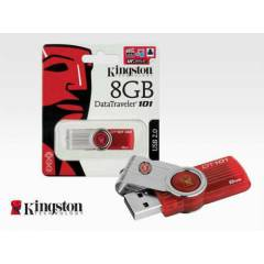 KiNGSTON KIRMIZI 8GB DT101G2 USB FLASH BELLEK