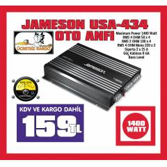 JAMESON USA-434 1400 WATT 4 KANAL OTO ANF�