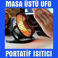 Masa�st� Mini Ufo Elektrikli Is�t�c� Soba 220 V