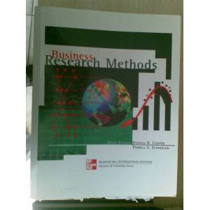 BUSINESS RESEARCH METHODS *DONALD R.COOPER