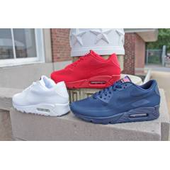 Nike Air Max 90 Hyperfuse - RED - USA