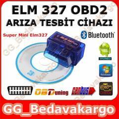 Mini ELM327 OBD2 Bluetooth Ar�za Tespit