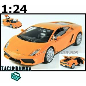 Mdl Lamborghini LP560-4 1 24 Model Araba Turuncu