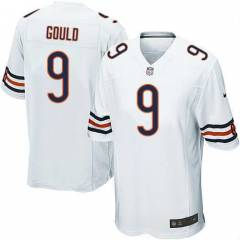 Nike Chicago Bears 9 Robbie Gould Limited White