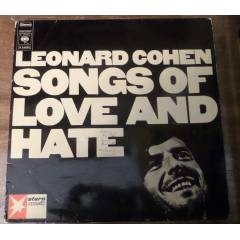 LEONARD COHEN-SONGS OF LOVE AND HATE